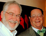 Hiddush CEO Rabbi Uri Regev & Chairman Stanley P. Gold